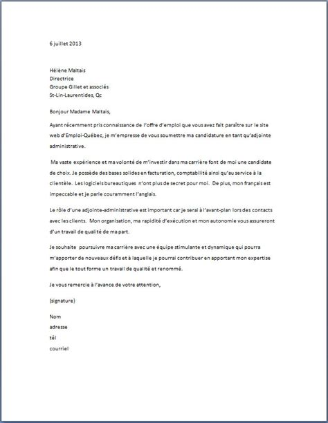 Exemple De Lettre De Pr Sentation Soins Infirmiers lettre de motivation application letter