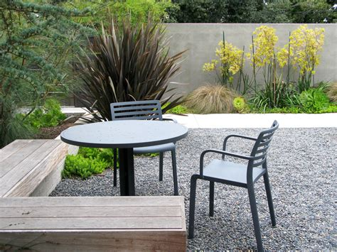 pea gravel landscaping pea gravel patio traditional with garden alcove