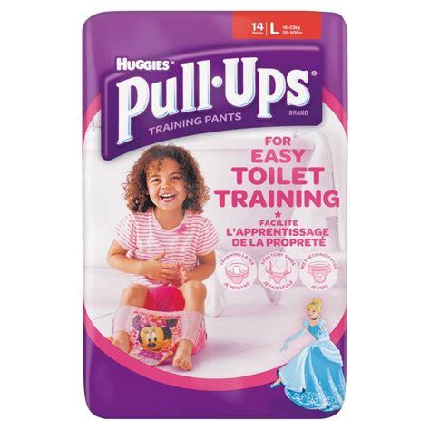 huggies pull ups girls huggies pull ups girls large 14 per pack from ocado