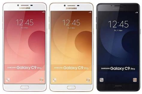 Samsung Galaxy C9 Pro 6 64 Gb Gold samsung galaxy c9 pro duos sm c9000 6 0 quot gold pink