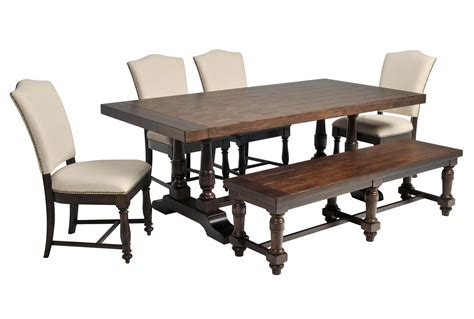 arlo 6 piece upholstered dining set living spaces