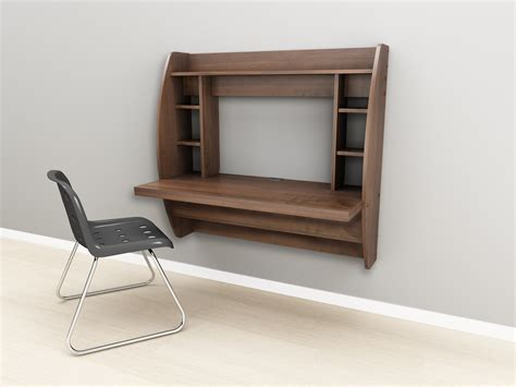 Wall Desk Ideas Furniture Small Wall Mount Computer Desk With Drawer And Portable Shelves Awesome Wall Mount