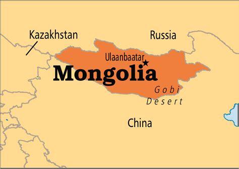 mongolia on world map mongolia operation world