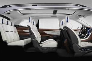 Subaru 8 Seater Subaru Ascent Concept Previews Upcoming Three Row