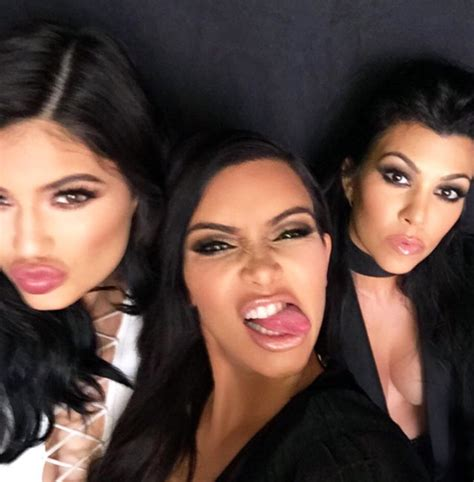 new mother kim kardashian sticks her tongue out in social media video kim kardashian tongue superficial gallery