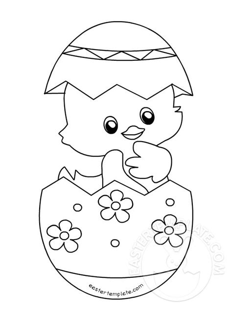easter templates easter coloring page easter template