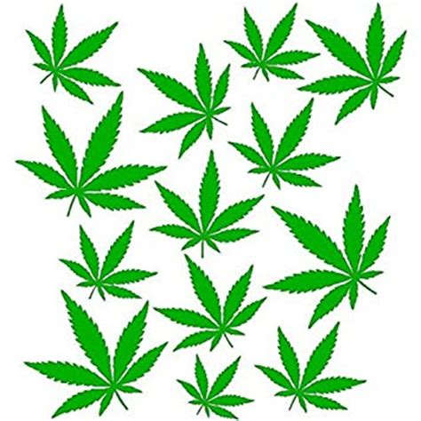 pot leaf template marijuana leaf pattern clipart best