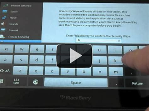 reset blackberry os 5 how to factory reset the blackberry playbook cnet