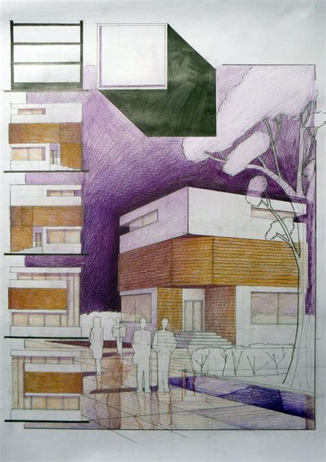 student house design cube house student design architectural drawing arch student com