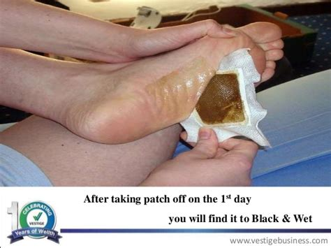 What S The Black From Foot Detox by Vestige Marketing Plan And Vestige Products