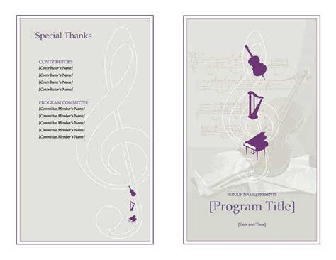 12 sample event program template plantemplate info