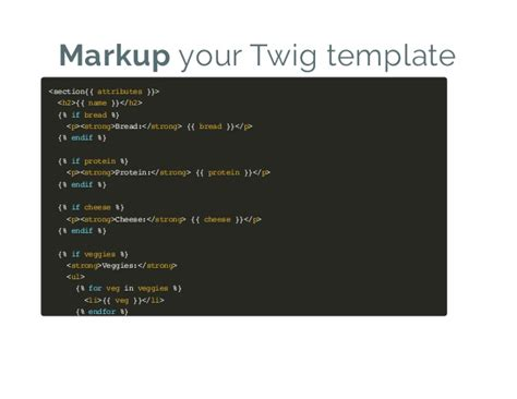 twig template variables drupal 8 theme system the backend of frontend