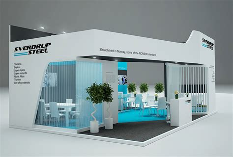design com sverdrup steel exhibition stand gm stand design