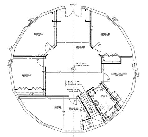 navajo hogan floor plans navajo hogan floor plans house 29590 blueprint details