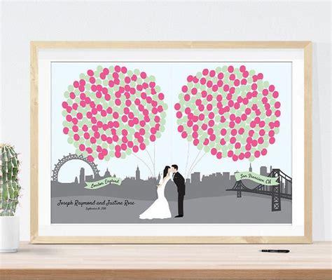 Unique Wedding Guest Book Alternative // Guestbook Idea