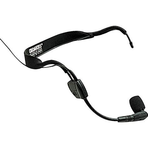 condenser microphone headset shure wh30xlr condenser headset microphone with xlr connector and pre music123