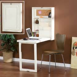 Writing Desk For Small Spaces Small White Fold Out Convertible Writing Desk With Shelves