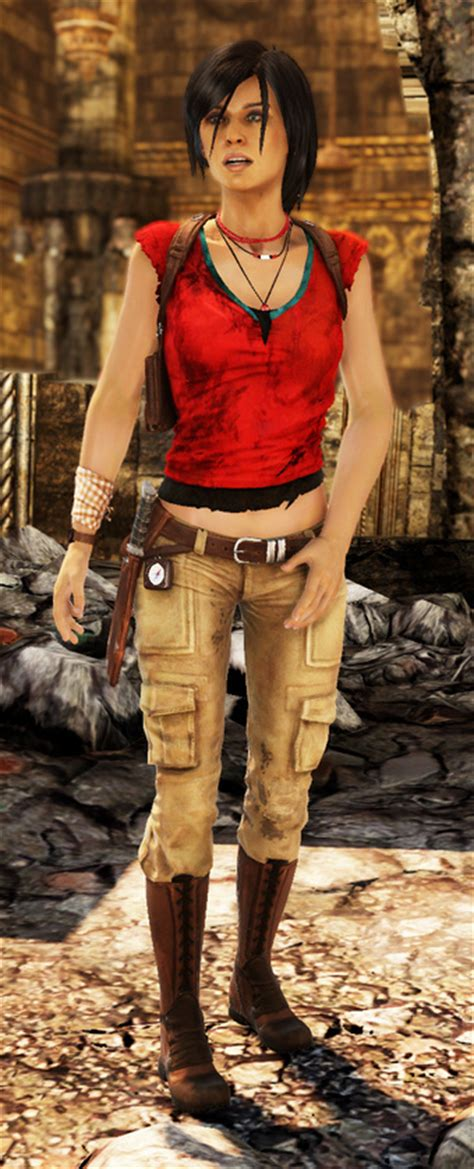 Blouse Kotako Top fashion what they re wearing in uncharted 2