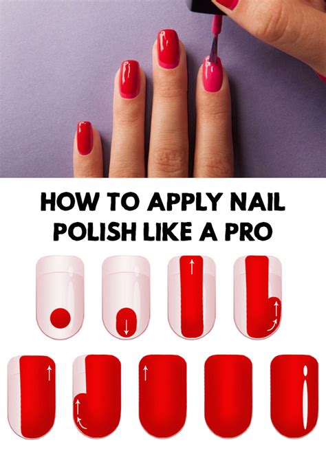how do you get nail polish off a couch apply nail polish how to apply nail polish like a pro