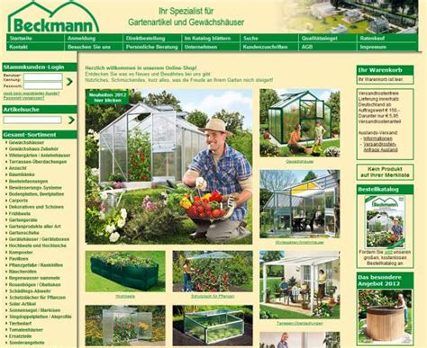 Garten Beckmann by Beckmann Kg Mehr Als Nur Ein Gew 228 Chshaus