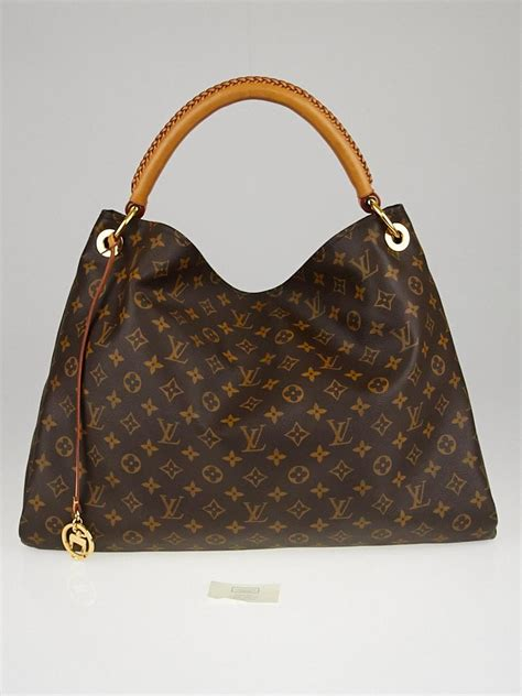 louis vuitton monogram canvas artsy gm bag handbags