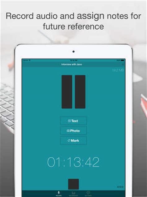 smart record audio voice recorder  notes