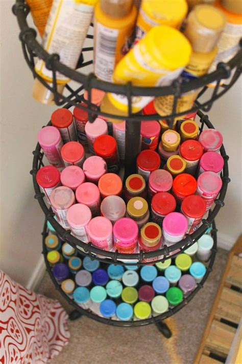 acrylic paint storage 25 best ideas about acrylic paint storage on