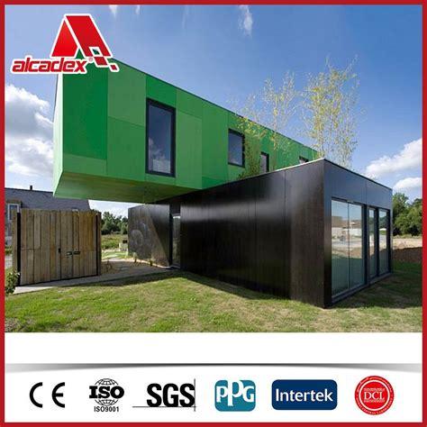 aluminium haus aluminium verbundplatte f 252 r modulare container haus alu