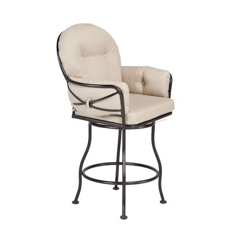 Club Swivel Counter Stool   Fishbecks Patio Furniture