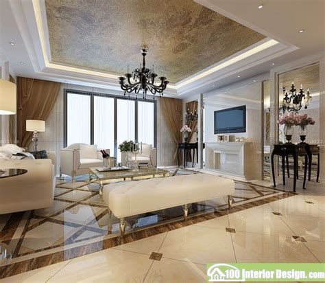 best tiles design for living room