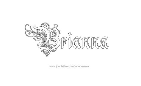 brianna tattoo designs name tattoos images