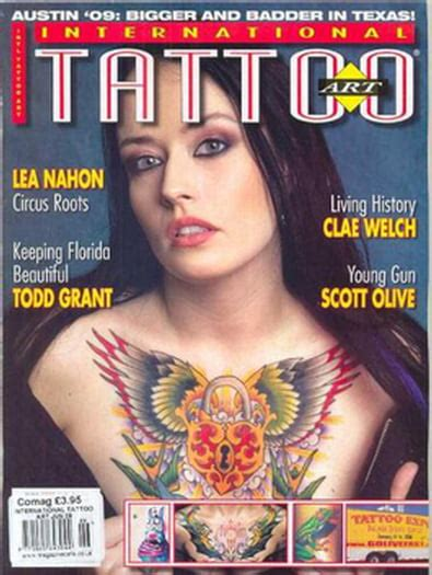 international tattoo art  magazine subscription