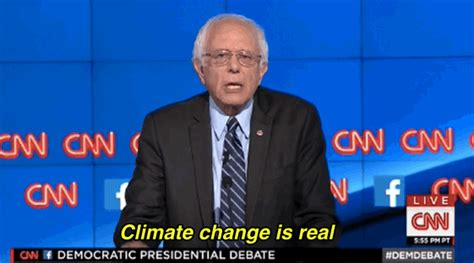 Wall Saying Stickers bernie sanders debate gif find amp share on giphy