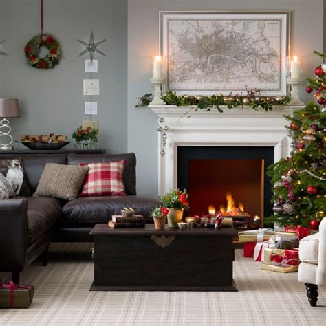 traditional living room ideas uk traditional neutral festive living room housetohome co uk