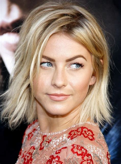 does julianne hough have thick hair julianne hough hairstyles messy bob julianne hough