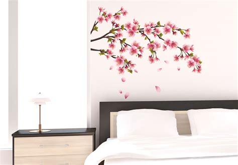 Blossom Tree Wall Stickers wandtattoo kirschbl 252 tenzweig romantik look f 252 r ihr