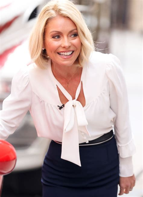 kelly ripa kelly ripa leaves live with kelly studio in new york