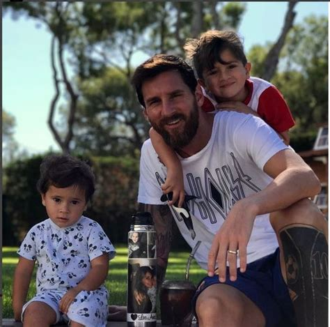 messi kid tattoo messi has a new tattoo of his wife antonella s lips next