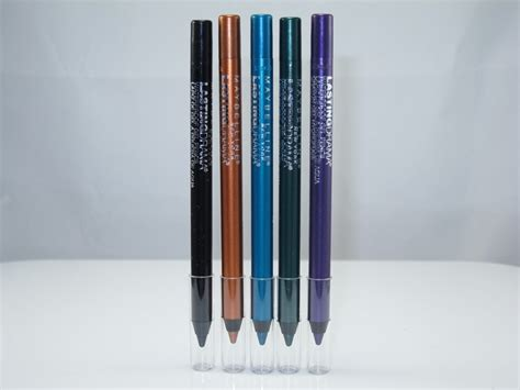Maybelline Eyeliner Pencil maybelline lasting drama waterproof gel pencil review