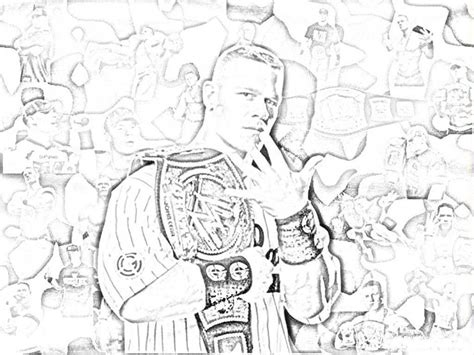 printable coloring pages john cena free john cena 2011 coloring pages