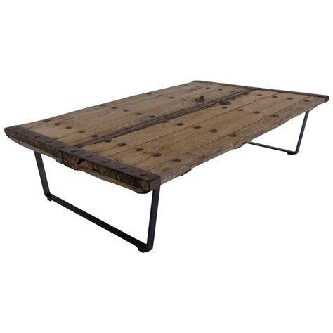 rustic door coffee table at 1stdibs