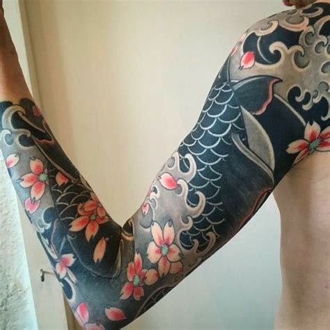 yakuza wave tattoo 43 best steampunk tattoos images on pinterest cool