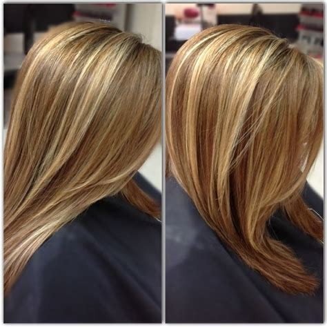pictures of honey beige blonde hair medium honey brown base with beige blonde highlights