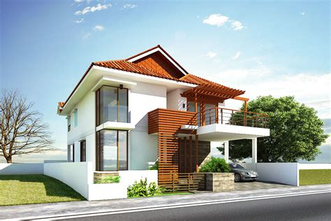 traditional kerala house  modern style  wooden