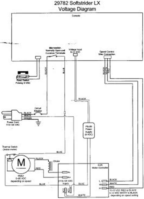 treadmill motor wiring diagram proform treadmill wiring