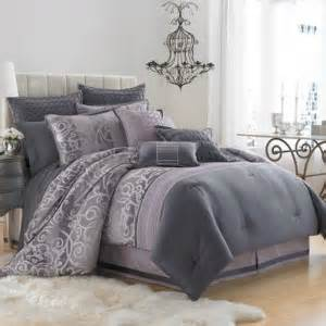 Gray and purple bedding sets bed amp bath