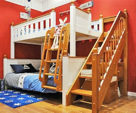 Wooden Bunk Bed Ladder by Cheap American Children Bunk Beds Solid Wood Bunk Bed Bunk