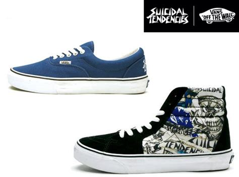 Vans Era Suicidal Murah vans x suicidal tendencies 2010 pack sk8 hi and era highsnobiety