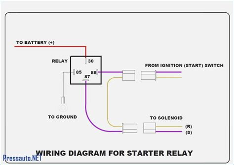 Electrical Relay Wiring Diagram