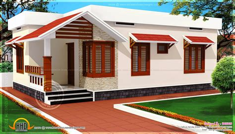 low cost home low cost kerala home design in 730 square feet kerala